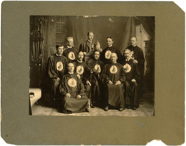 """The Hoo Hoo Club photograph."" Call Number: PI/1991.0020 (MDAH Collection)"