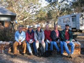APT Team #2, Nov/Dec 2005 (from L to R): M. Hunter Ulf, Bob Neeld, Richard Collier, Virginia Paca, Scott Field, and Brian Robinson.