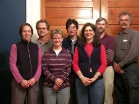 APT Team #3, Jan 2006 (from L to R): Beth Nathan, John Wathne, Jennifer Baughn (MDAH), Dean Koga, Marilyn Kaplan, David Bergstone, and Randolph Langenbach.